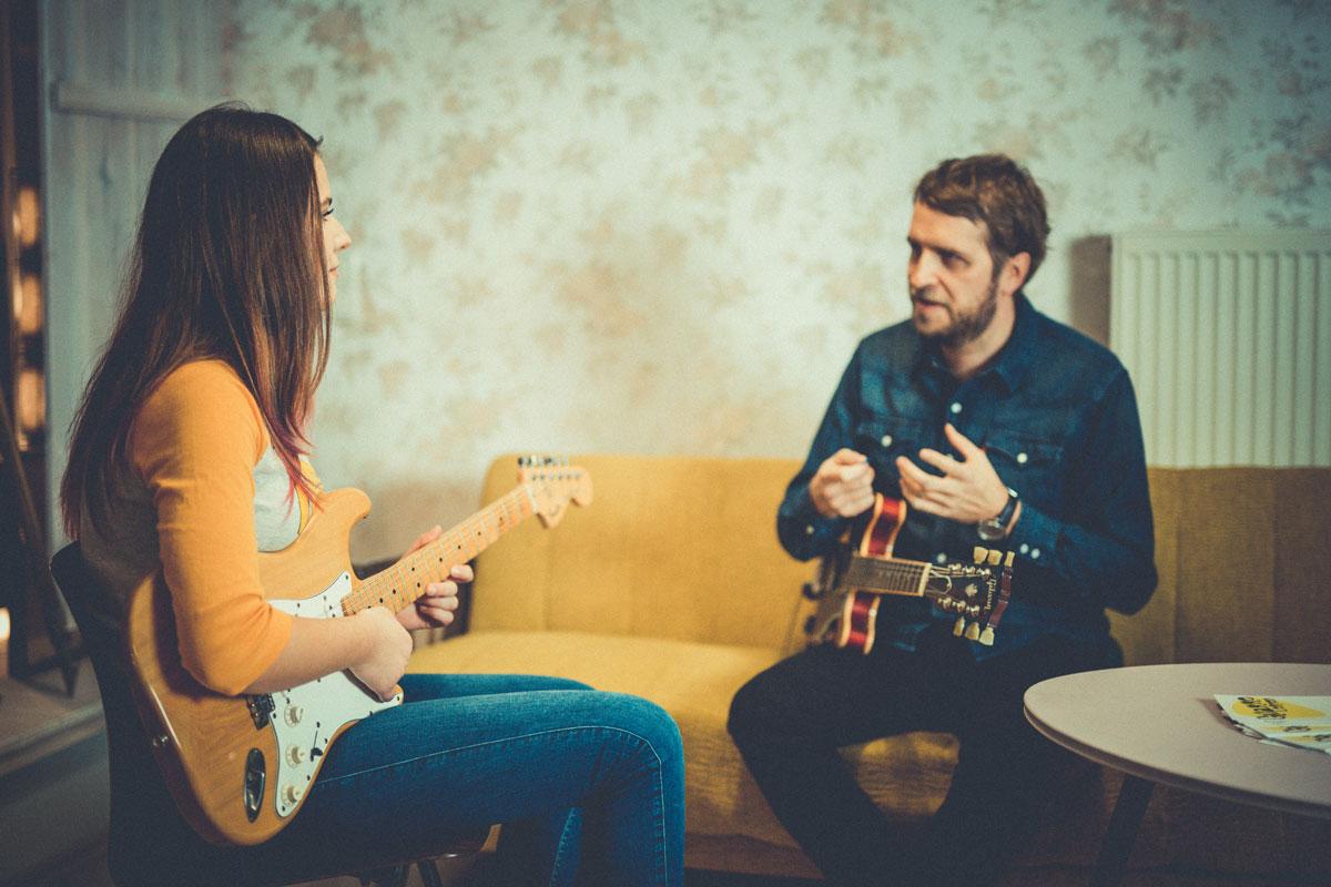 Gitarrenunterricht in der Gitarrenschule Gitarre lernen Nürnberg mit Andre Langer